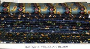 Indigo/Prussian blues