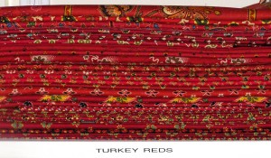 Turkey Red shelf