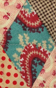A fave reproduction of Serpentine Stripes c 1820 - 1850.  I have two colourways of this one.