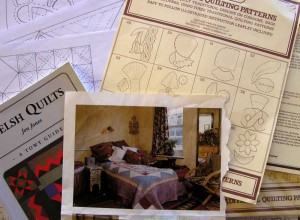 Inspiration, and my 'working' drawings.