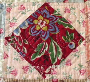 Paisley Pear, another Welsh quilting pattern.