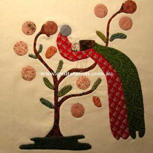 Inspired by the Maltaville Album Quilt 1847, Smithsonian Institute.