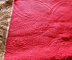 Welsh Quilt whole cloth