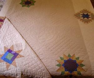 Image of Dylan's quilt (back)