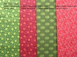 image of RJR Groom's Quilt fabrics