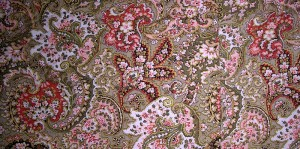 Image of paisley quilt