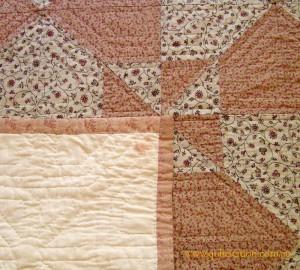 image of detail of Allbrook quilt