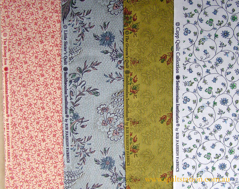 image of Smithsonian fabric giveaway