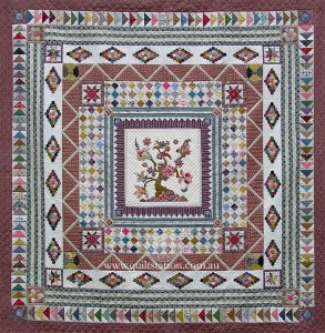 image of Banyan Tree Medallion quilt