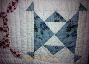 image of Dear Jane quilt detail