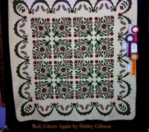 image of Red, Green Again quilt