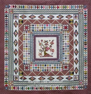 image of Banyan Tre Medallion quilt
