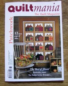 image of Quiltmania magazine