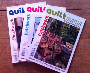 image of quiltmania magazines