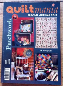 image of quiltmania magazine