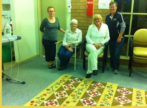 image of Goldfields Quilters Raffle Quilt
