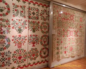 image of DAR museum quilts