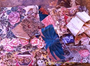 image of Vintage Fabric pieces