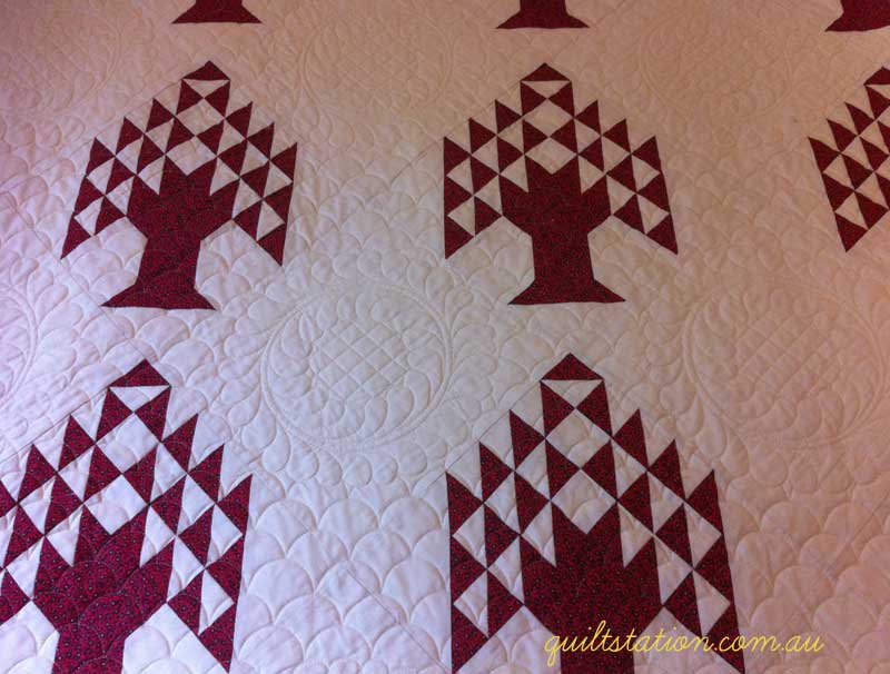 image of Pine Trees quilt