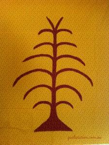 image of Applique Tree