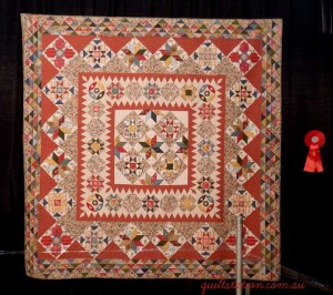 image of Mid 19th Century Star Quilt