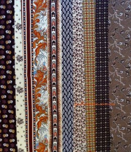 image of 19th C repro fabrics