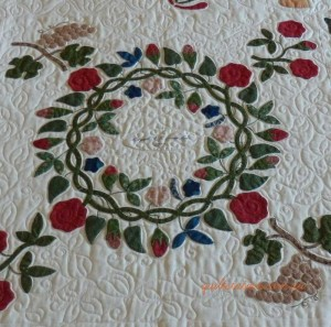 image of MaltavilleAlbum Quilt detail