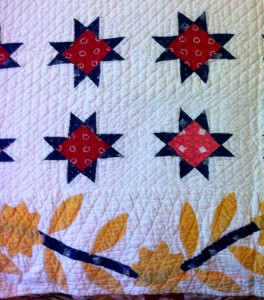 image of stars quilt