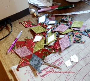 image of paper piecing
