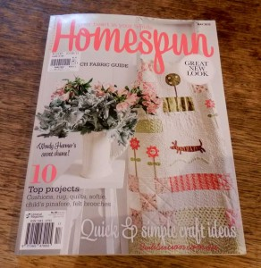 image of homespun magazine