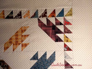 image of sail boat quilt