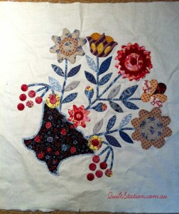 image of Applique block