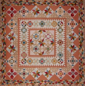Mid 19th Century Star Quilt