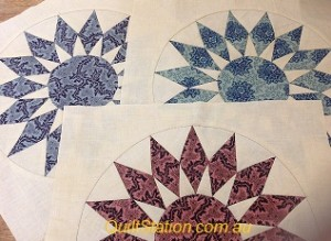 image of 1800s sunburst blocks