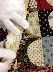 image ofComparing fabrics