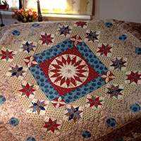 Liberty Oak  'Quilts from the Colonies'